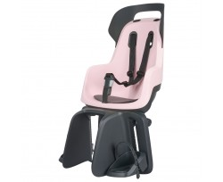 Дитяче велокресло Bobike Maxi GO Carrier / Cotton candy pink